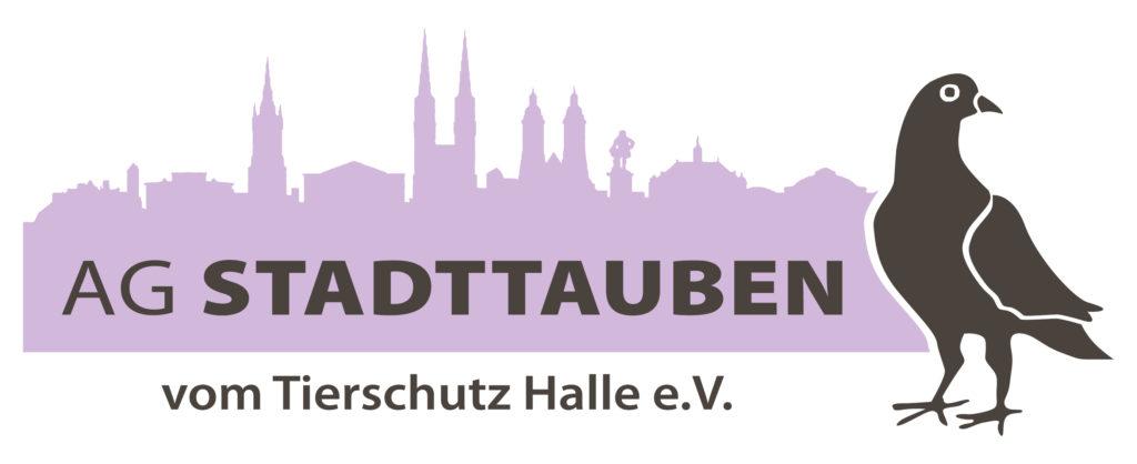 Logo der AG Stadttauben