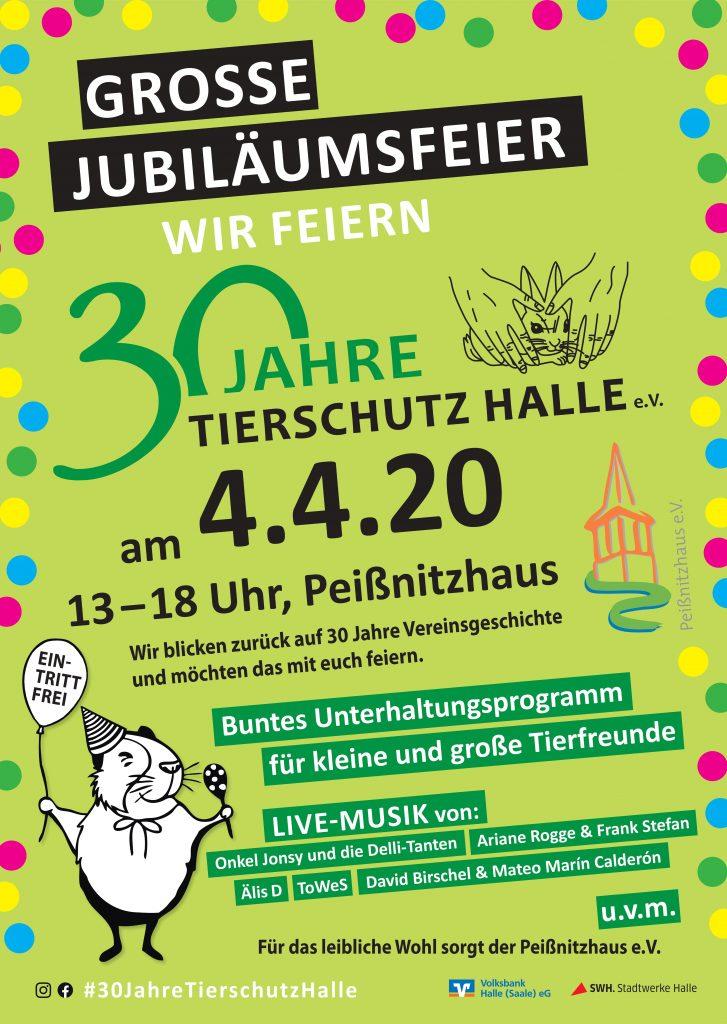 Jubiläumsfest-Plakat